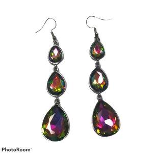 🔥2/$30🔥Mermaid oil spilled earrings